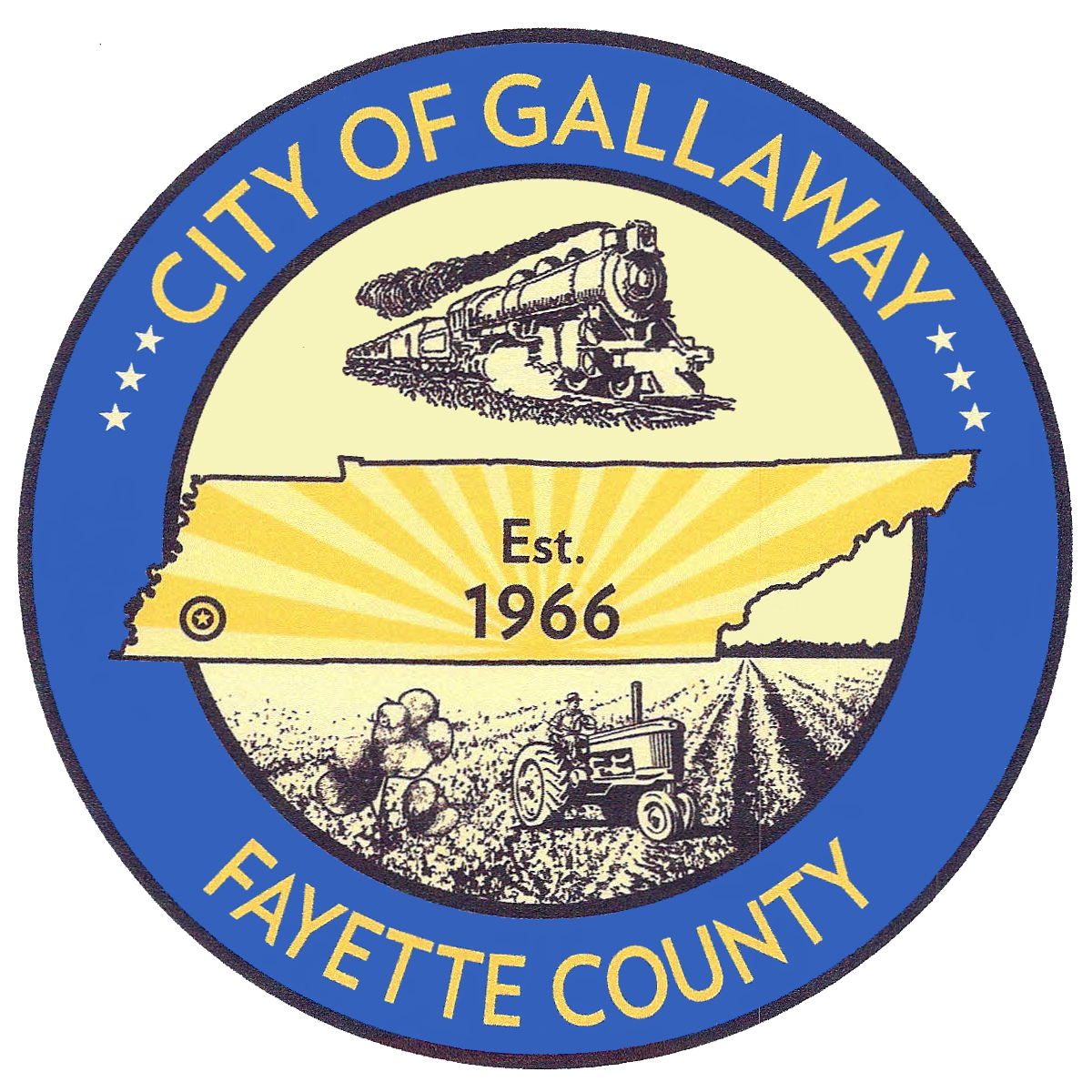City of Gallaway Seal